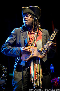Future Man of Bèla Fleck & The Flecktones performs at Jannus Live in St. Petersburg, FL on October 20, 2011