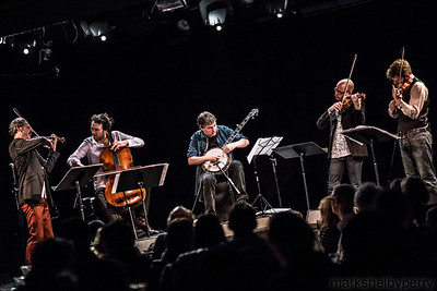 Béla Fleck and Brooklyn Rider with Miloš at LPR, November 2013