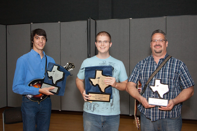1st Place and Texas State Champion:  Jordan Kishbaugh from Houston<br /> 2nd Place: Shain Gustin from Katy<br /> 3rd Place: Greg Tsamouris from Houston