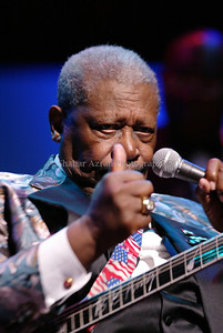 BB King concert at Apollo Theater in Harlem