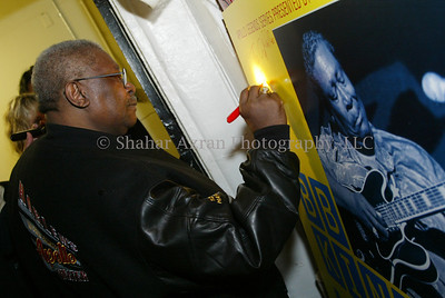*** EXCLUSIVE ***  BB King concert at Apollo Theater in Harlem