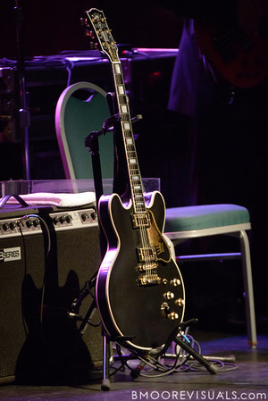 Lucille awaits the arrival of B.B. King to the stage on January 5, 2013 at Ruth Eckerd Hall in Clearwater, Florida