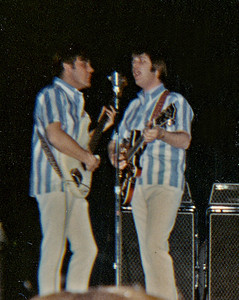 Bruce Johnston and Carl Wilson doing backup vocals.