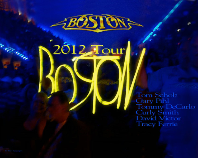 BOSTON 2012 TOUR