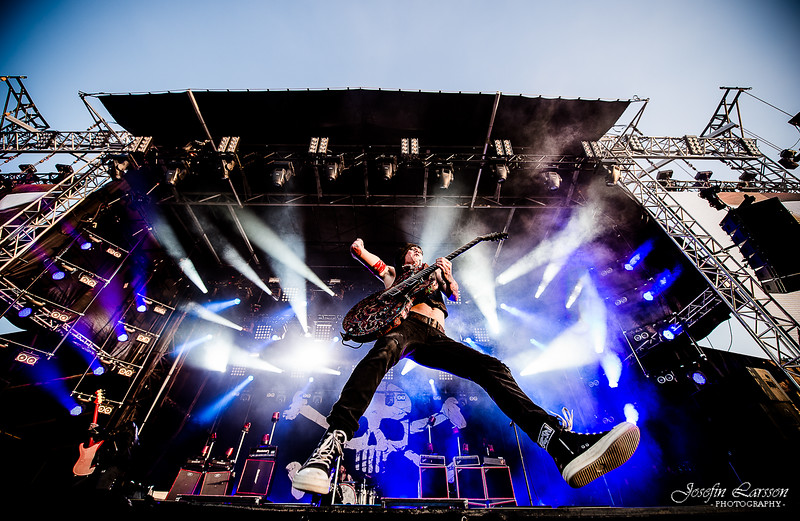 Backyard Babies at Sweden Rock Festival