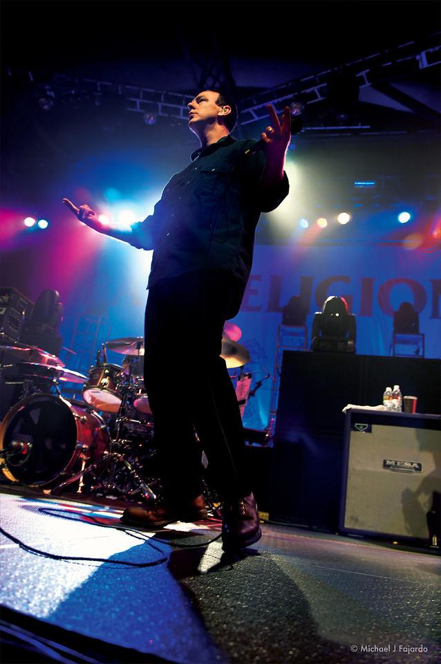 Greg Graffin Bad Religion Opening for Rise Against Fillmore Auditorium, Denver, CO  April 16, 2011