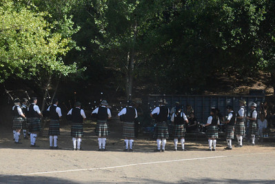Pacific Coast Highlanders Bagpipe Band 15 June 2013