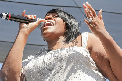 VAN NUYS, CA - SEPTEMBER 15:  Singer Kelly Price performs at the 1st annual Balboa Music Festival at Lake Balboa Park on September 15, 2012 in Van Nuys, California.  (Photo by Chelsea Lauren/WireImage)