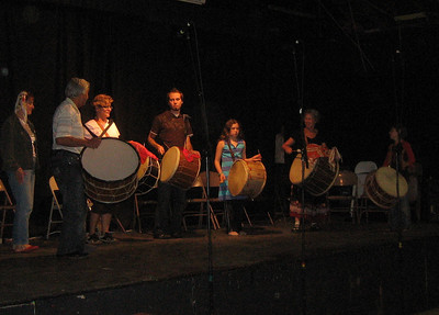 Student Concert performance: Beginning Tapan class