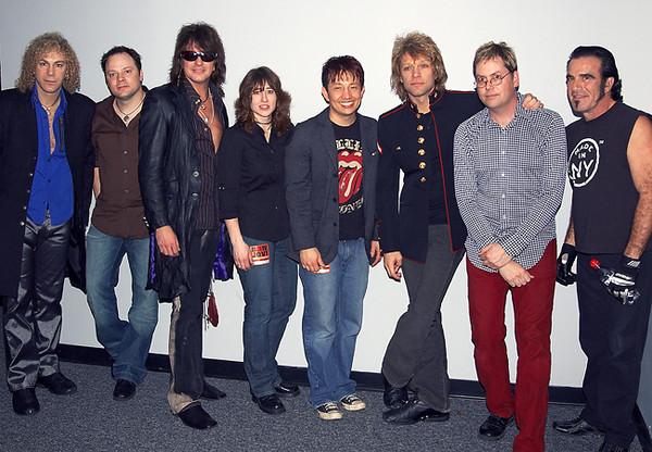 Philly based band IKE opens for Bon Jovi in Atlantic City. (c) 2006 Jeff Green - CapturedPix.com