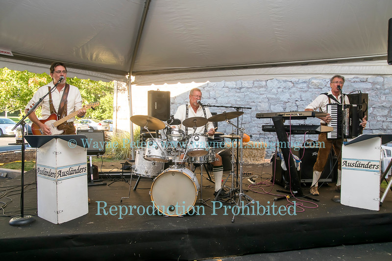 The Auslanders at the WNY Beer Festival, September 23, 2016 at Woodcock Brothers Brewery, in Wilson, NY.