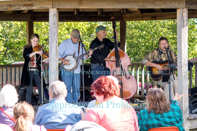 The bluegrass band Creek Bend at the 2016 Newfane Apple Harvest Festival, September 25, 2016 in Newfane, NY.