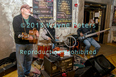 The Danny Lynn Wilson band at Woodcock Brothers Brewery in Wilson, NY on November 17, 2013