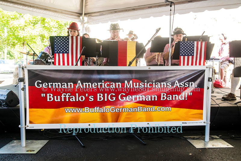 The German American Musicians Association at Cocktoberfest, Woodcock Brothers Brewery, September 24, 2016 in Wilson, NY.