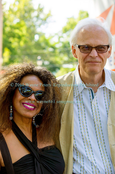Janice Mitchell and the Jim Beishline Trio at Lewiston Jazz Festival, August 24, 2013
