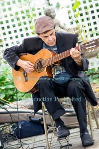 Matt Richards at the Lewiston Jazz Festival, August 23, 2014, in Lewiston, NY.
