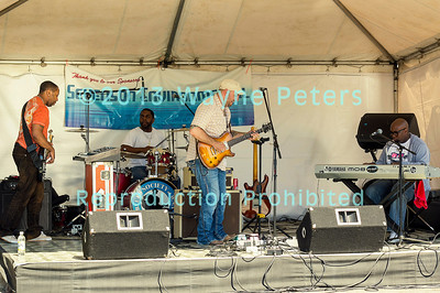 The Mick Hayes Band at Cross Border Blues, Brews & Ques in Wilson, NY, June 16, 2013