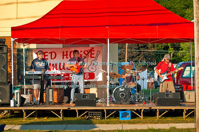Red House Band at Newfane's Bike Night, August 20, 2010