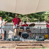 The band Stationwagon at Somewhere, Youngstown, NY on July 30, 2016