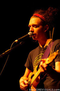 Dylan Rau of Bear Hands performs on May 2, 2010 at State Theatre in St. Petersburg, Florida