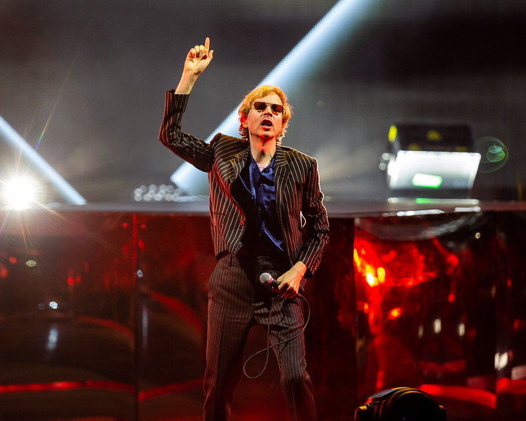 Beck The Night Running Tour at Ruoff Home Mortgage Music Center on August 4, 2019. Photo by Tony Vasquez for Jams Plus Media.