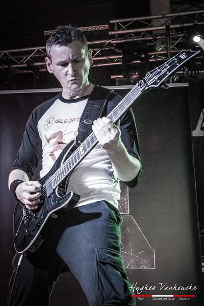 Bruno C - At The Front @ Skullfest 2016 - Zaal Oosthove - Wervik - West-Vlaanderen