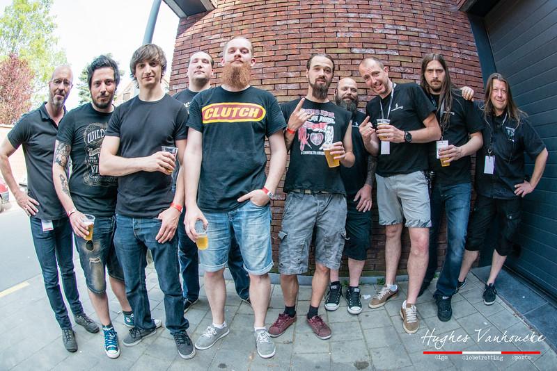 Organisatie & Fields of Troy @ Headbanger's Balls Fest - 't Sok - Kachtem - West-Vlaanderen