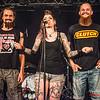 Louis Soenens, presentatrice Beeze Deeze & Wesley Decru - Fields of Troy @ Headbanger's Balls Fest - 't Sok - Kachtem - West-Vlaanderen
