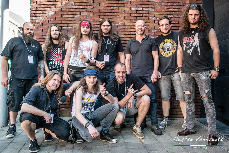 Organisatie & WildHeart  @ Headbanger's Balls Fest - 't Sok - Kachtem - West-Vlaanderen