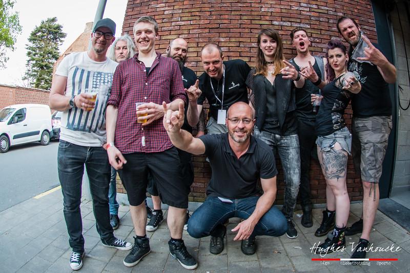 Spoil Engine & HBB Team @ Headbanger's Balls Fest - 't Sok - Kachtem - West-Vlaanderen