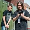 Management met zoon @ Headbanger's Balls Fest - 't Sok - Kachtem - West-Vlaanderen