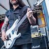 Lead gitarist Guy Commeene (Dyscordia) - Batjesfestival - Ledegem - West-Vlaanderen