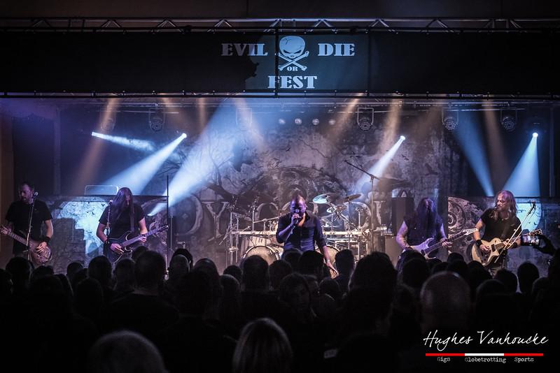 Dyscordia @ Evil or Die Fest 2016 - Zaal Kerelsplein - Roeselare