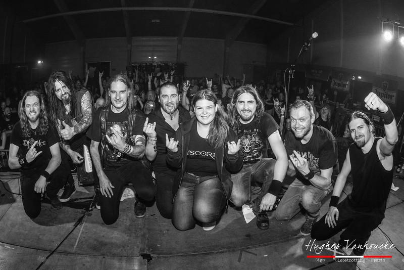 Dyscordia en jarige fans @ Skullfest - Zaal Oosthove - Wervik