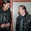 """Gitaris Fane in gesprek - Videoclip voorstelling """"Chtonic Star"""" - Café Den Deugniet - Kortrijk"""