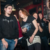 "Gitarist Fane goed omringd - Videoclip voorstelling ""Chtonic Star"" - Café Den Deugniet - Kortrijk"