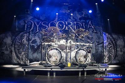 """Dyscordia """"Words in Ruin"""" Release Show @ De Kreun - Kortrijk - Belgium/Bélgica"""