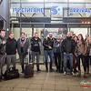 Band, technici & fans @ Летище София (Sofia Airport) - Sofia - Bulgarije