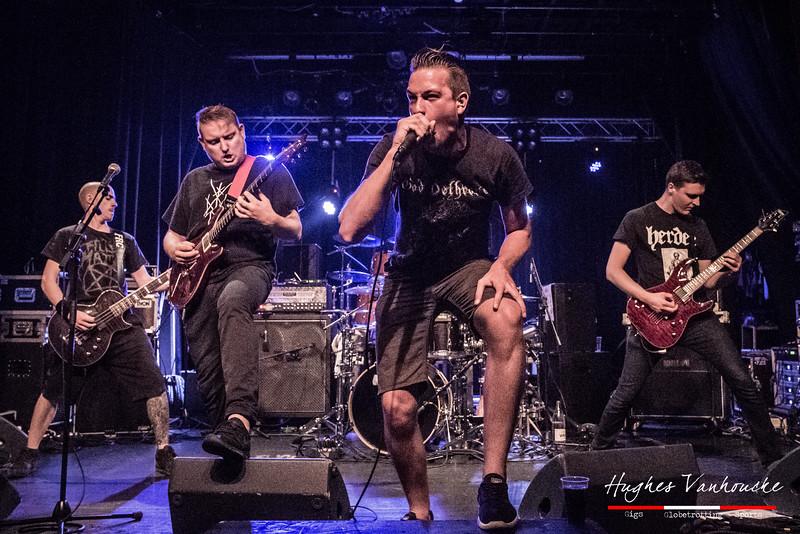 The Curse of Millhaven @ Club de B - Torhout - Belgium