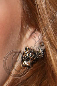 UNIVERSAL CITY, CA - AUGUST 31:  Actress / singer Bella Thorne (earring detail) arrives at Universal CityWalk's free music spotlight series at 5 Towers Outdoor Concert Arena on August 31, 2012 in Universal City, California.  (Photo by Chelsea Lauren/WireImage)