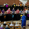 The ensemble in performance at WPPC.