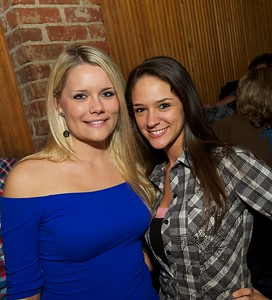 Brittany Schmitt from Ft Thomas and Michelle Wright of Cincinnati at Bogarts Wednesday to see Ben Folds