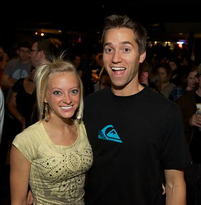 Lindsey and Wes Candall of Louisville, KY at Bogarts Wednesday to see Ben Folds