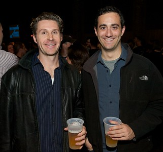 Clint Watson from Prospect Hill and Greg Lavigne of OTR  at Bogarts Wednesday to see Ben Folds