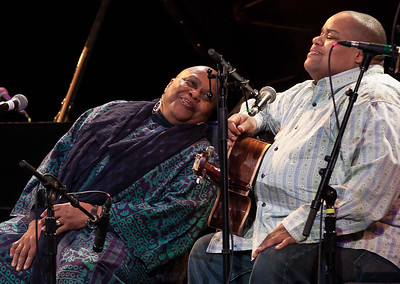 Bernice Johnson Reagon and Toshi Reagon