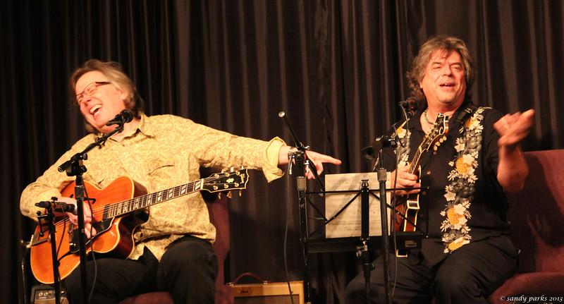 Bert Carlson and T J  Crow