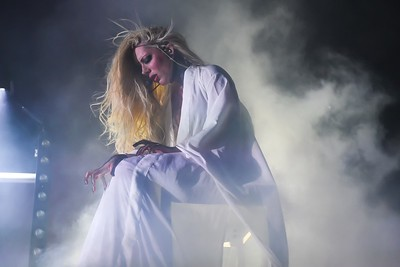 MARIA BRINK OF IN THIS MOMENT AT THE ELECTRIC FACTORY