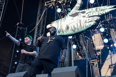 RUN THE JEWELS AT THE MADE IN AMERICA FESTIVAL IN PHILADELPHIA