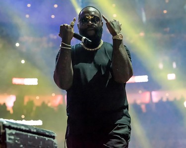 RICK ROSS AT THE POWER 99 POWERHOUSE SHOW IN PHILADELPHIA(WELLS FARGO CENTER)