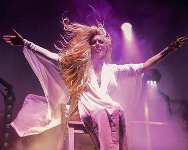 MARIA BRINK OF IN THIS MOMENT AT THE FILLMORE IN PHILADEPHIA